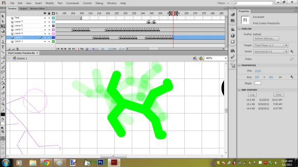 First Stick Figure Animation Screenshot